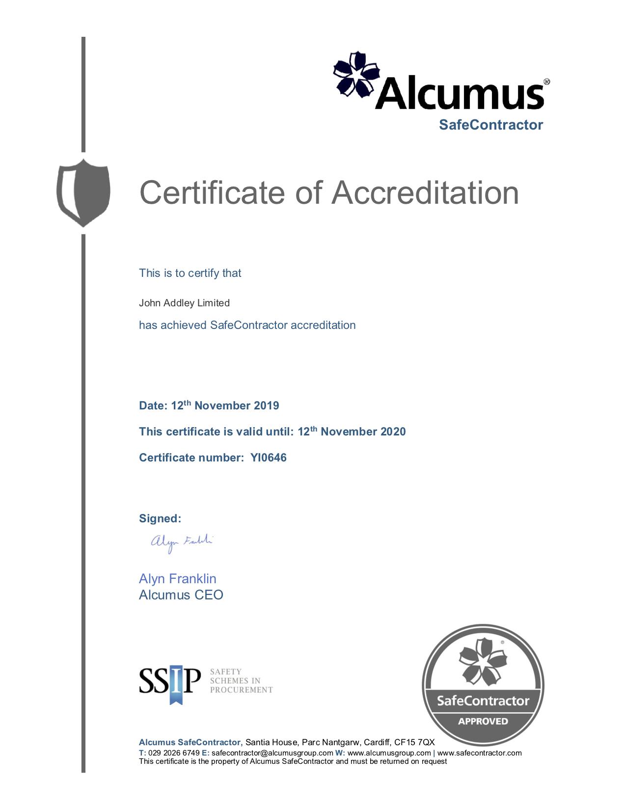 Certificate 2019 2020